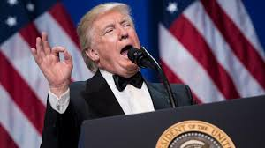 black friday target speech at military ball trump keeps target on old foes politico