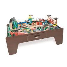 imaginarium classic train table with roundhouse imaginarium train ebay