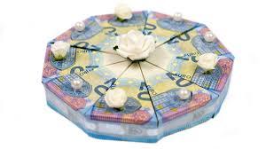 hochzeitsgeschenk basteln geld geld falten torte hochzeitsgeschenk selber basteln diy anleitung