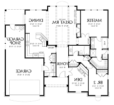 Bedroom Blueprint How To Draw Blueprint Of House Home Deco Plans