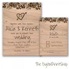 Post Wedding Invitations Rustic Chic Wedding Invite Unique Wedding Reception Invitation And