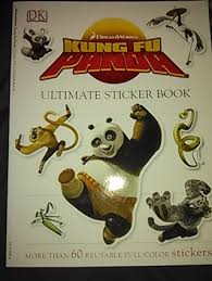 free kung fu panda ultimate sticker book children u0027s books