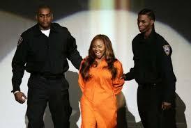 Prison Jumpsuit Lil U0027 Kim Attends Mtv Awards Show In Prison Jumpsuit Houston