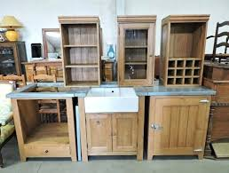 table cuisine en pin cuisine pin massif simple bon coin meuble de cuisine occasion meuble
