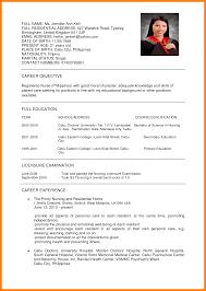 Medical Doctor Curriculum Vitae Example 8 Sample Curriculum Vitae For Job Application Joblettered
