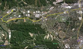 Johnson City Tennessee Map by Metal Recycling Inc Scrap Metal Recycling