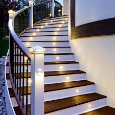 Wooden Front Stairs Design Ideas Accessories Magnificent Staircase Lighting Design Ideas Pictures