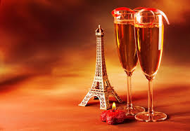 Large Eiffel Tower Statue Champagne Glasses Statue Eiffel Tower La Tour Eiffel Heart Candle
