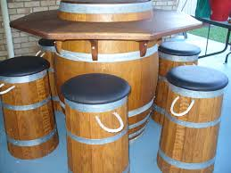whiskey barrel bar table whiskey barrel bar table by degoose lumberjocks com