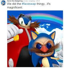 Eggman Meme - sonic and eggman face swap sonic hedgehog know your meme