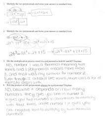Multiply Polynomials Worksheet Multiplying A Polynomial By Monomial Worksheet Answers With Gyles