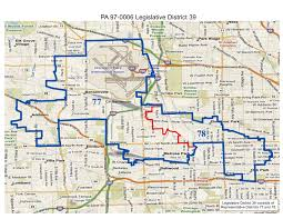 Map Of Illinois State by Will County Politics 2011