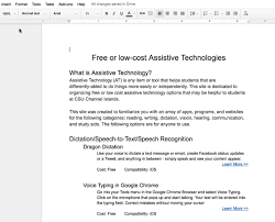 Google Doc Table Of Contents Creating Accessible Google Documents U2013 Teaching And Learning