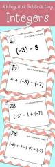 25 best adding and subtracting integers ideas on pinterest
