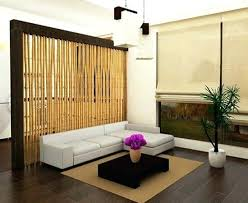 living room glass partition ideas between and kitchen divider