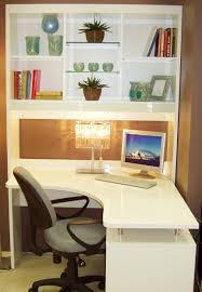 beautiful white corner desk with shelves photos home ideas