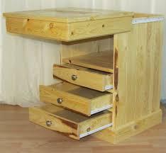 pine nightstand with concealed storage tabula rasa