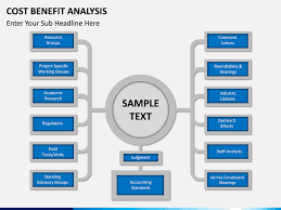 cost benefit analysis powerpoint template sketchbubble