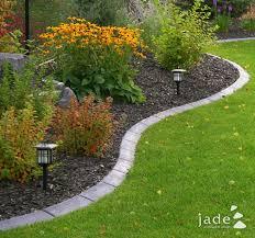 Rock Borders For Gardens Best 25 Garden Borders Ideas On Pinterest Rock Garden Borders