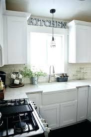 Kitchen Sink Lighting Ideas Cabinet Sink Lighting View In Gallery Modern Kitchen