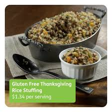 gluten free thanksgiving with and brown rice