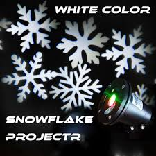 new outdoor waterproof snowflake laser light garden projector
