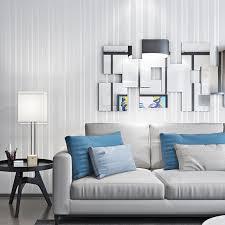 chambre habitat amélioration de l habitat salon fond papier peint vertical papier