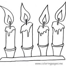 21 christmas printable coloring pages free candle coloring