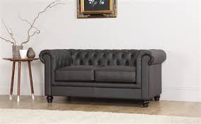 Chesterfield Sofa Brown Hton 2 Seater Leather Chesterfield Sofa Brown Only 499 99