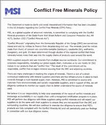 Wall Street Cover Letter Cfm Policy Msi Materials Science International Inc