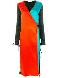 attico color block dress kirna zabete