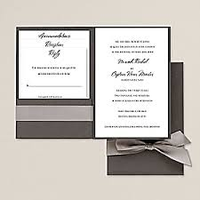pocket invitations pocket wedding invitations wedding pocket invitation kits