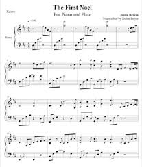 sheet music christmas piano improvisations