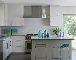 Stainless Steel Kitchen Backsplashes Kitchen Backsplash Tile White Light Brown Cabinet Stainless Steel