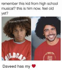 Meme High School - remember this kid from high school musical this is him now feel old