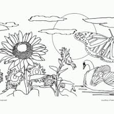 nature scene coloring pages free printable nature coloring pages for kids best coloring