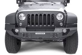 rhino jeep 2 door go rhino 230120t front bumper with full end caps for 07 17 jeep