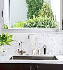 Best Backsplashes Images On Pinterest Kitchen Ideas - Marble backsplashes for kitchens