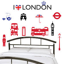 i love london wall stickers decals i love london