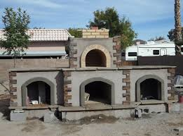 Pizza Oven Fireplace Combo by Goodbye Pool Hello Phoenix Pizza Ovens Outdoor Fireplaces And