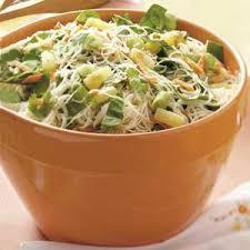 noodle salad recipes rice noodle salad recipe taste of home