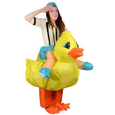 amazon com inflatable duck halloween fancy dress blow up party