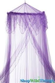 Purple Bed Canopy Net Bed Canopies Event Netting Shopwildthings Com