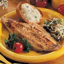 Catfish Dinner Ideas Marinated Catfish Fillets Recipe Taste Of Home