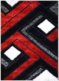 Black Rugs Black Red And White Rugs Roselawnlutheran