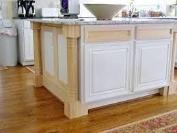 kitchen island columns decorative molding kitchen cabinets builder island customized with
