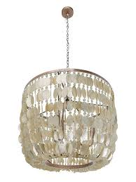 Capiz Light Pendant Kouboo Capiz 3 Light Inverted Pendant Reviews Wayfair