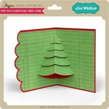 lw pop out tree card lori whitlock