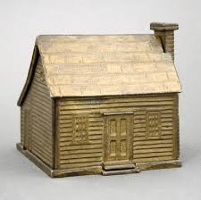 colonial saltbox whimsical antique toys and banks sold on march 19 by rsl auctions