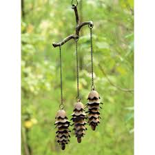amazon com spi home 32725 triple pinecone wind chime wind